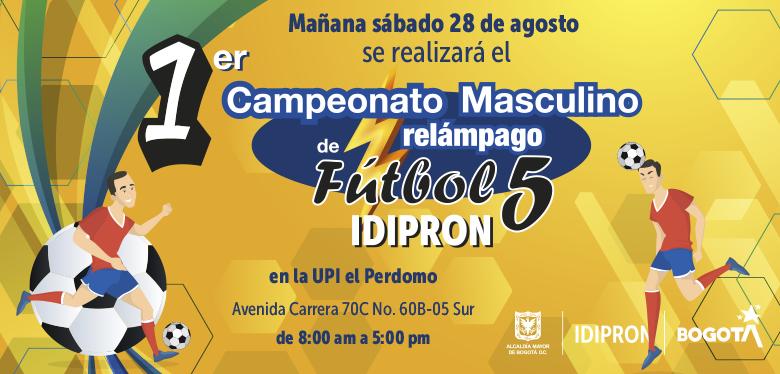 Primer Campeonato Masculino de Fútbol en la UPI Perdomo