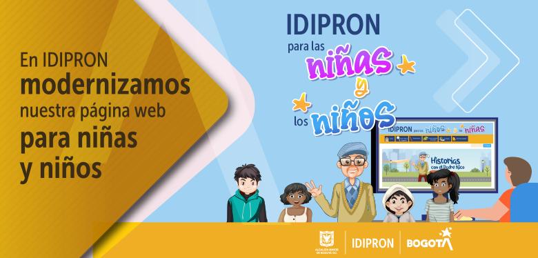 página web para niñas y niños