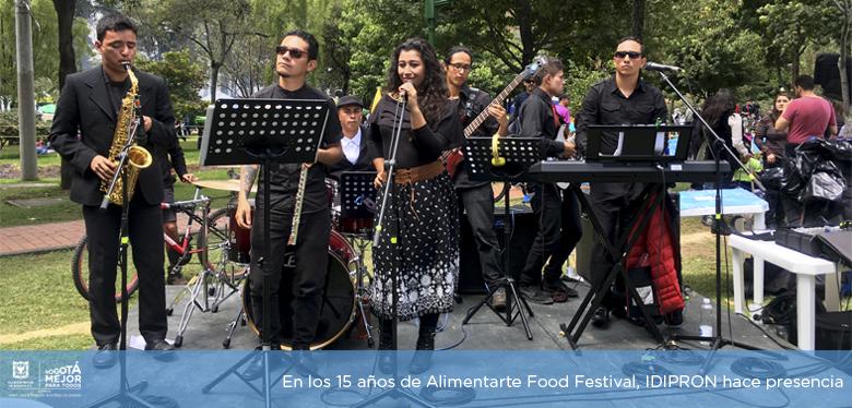 En los 15 años de Alimentarte Food Festival, IDIPRON hace presencia