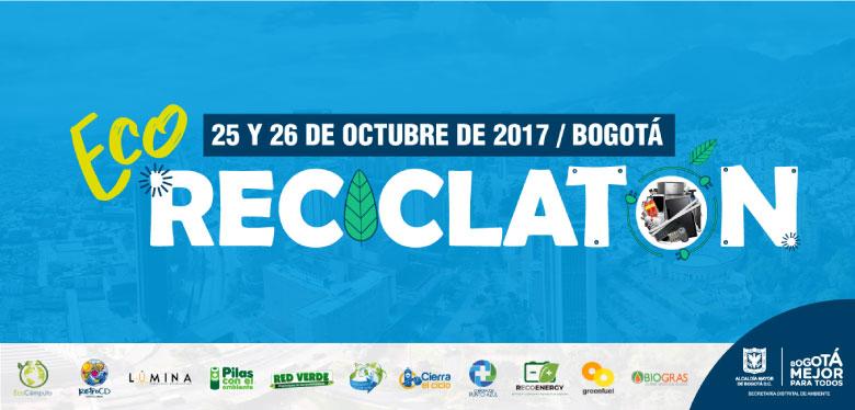 Invitación a ECO Reciclatón 25 y 26 de octubre 2017