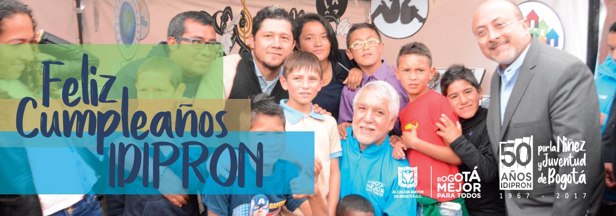 """I""""El IDIPRON es la oportunidad para los que no tienen oportunidades""""."""
