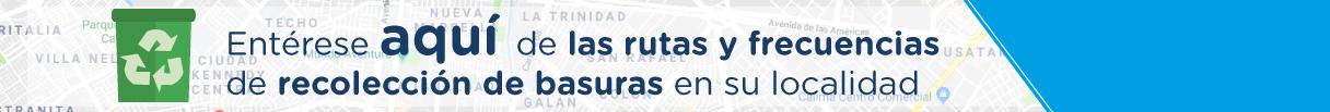 De click sobre el enlace para conocer todo lo relacionado con el nuevo modelo de aseo en Bogotá