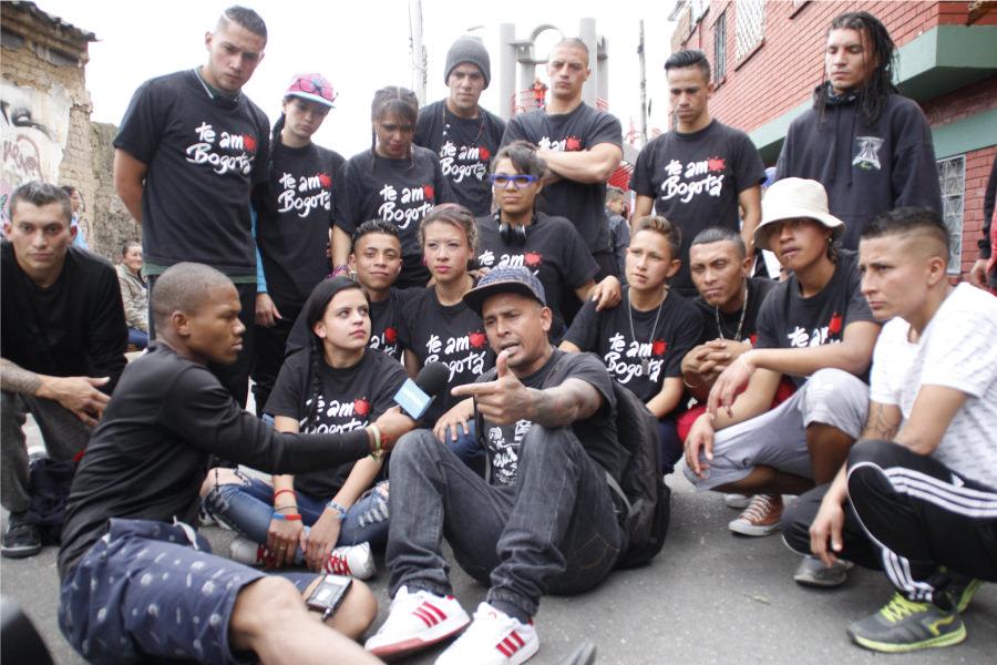 Bonilla y su grupo