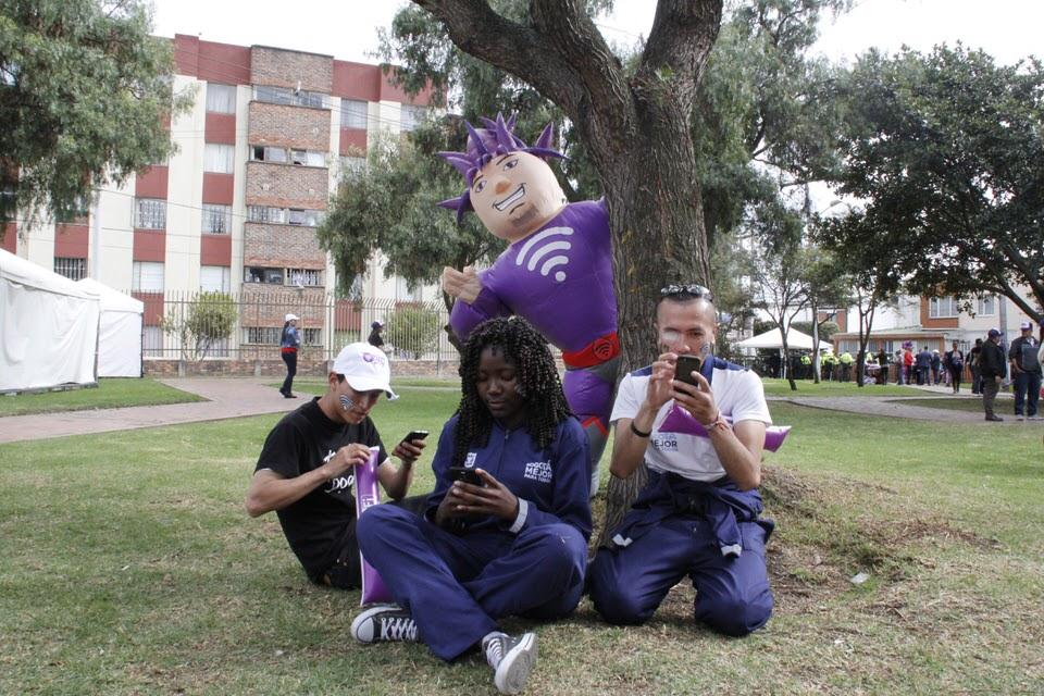 En imágenes: 1000 puntos WiFi gratis en Bogotá