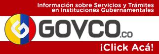Invitación a portal web Govco.co Información Trámites y Servicios