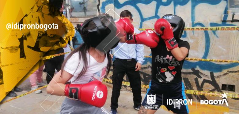 Los futuros campeones de BoxVida del IDIPRON